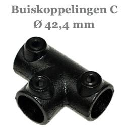 Buiskoppelingen 42,4 mm